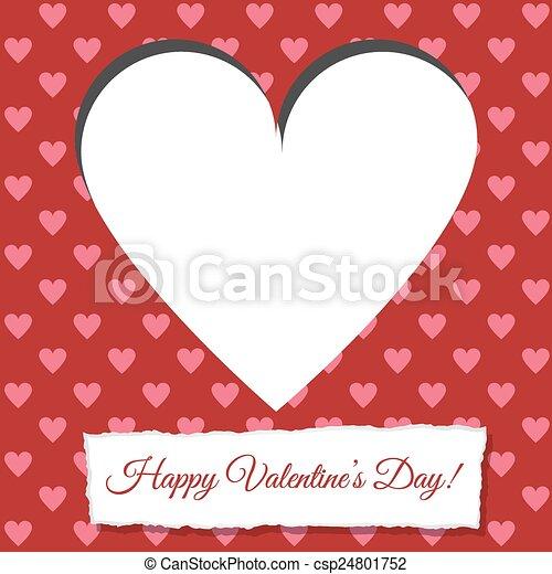 valentine card - csp24801752