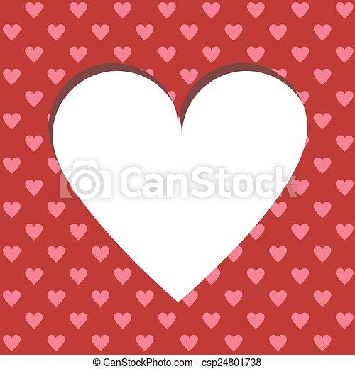 valentine card - csp24801738