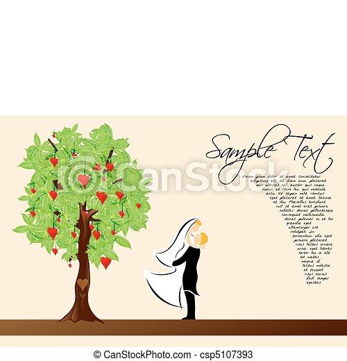 valentine card - csp5107393