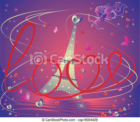 Valentine card - csp18004429