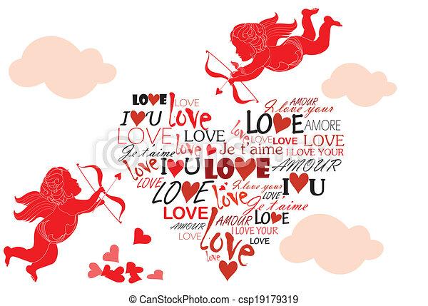 Valentine card - csp19179319