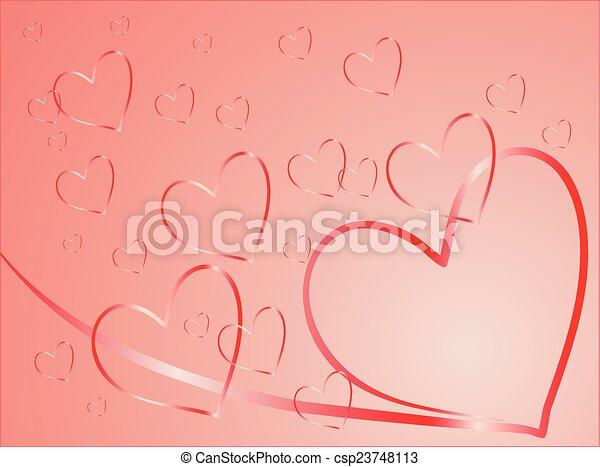 Valentine card - csp23748113