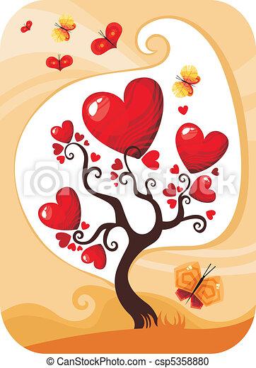 valentine card - csp5358880