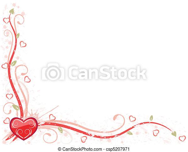Valentine Day Card - csp5207971