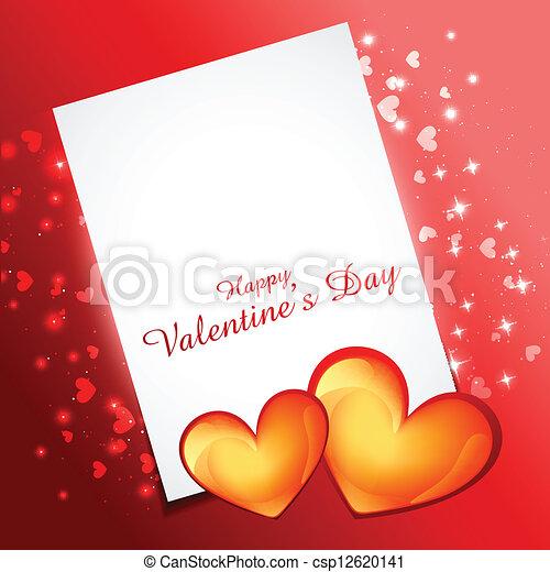 valentine day heart - csp12620141