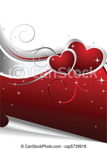Valentine Day's Illustration - csp5739918