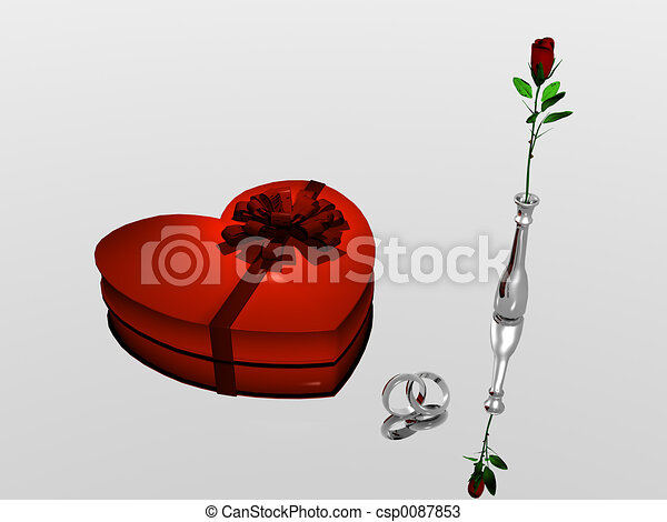Valentine. - csp0087853