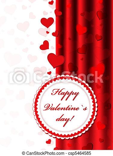 Valentine frame - csp5464585