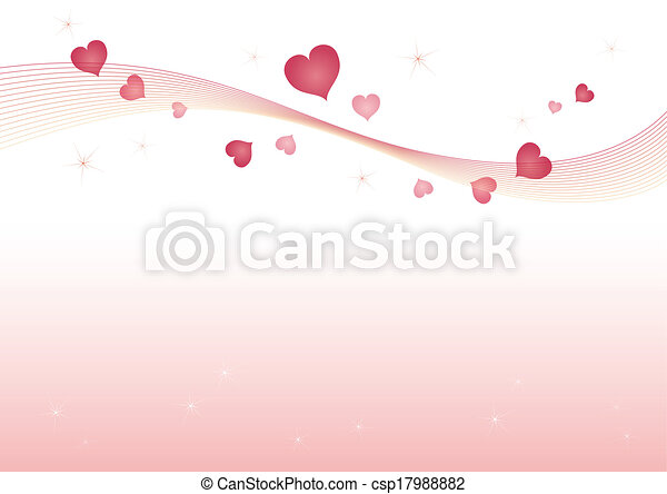 Line Art Valentine : Valentine heart background. background image with vector