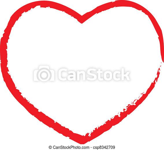 Valentine heart - csp8342709