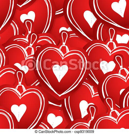 Valentine hearts - csp9319009