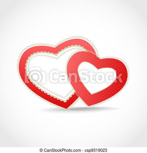 Valentine hearts - csp9319023