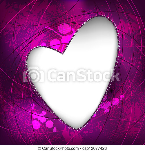 Valentine illustration - csp12077428