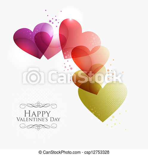 Valentine Transparent Hearts Valentine Day Transparent Hearts