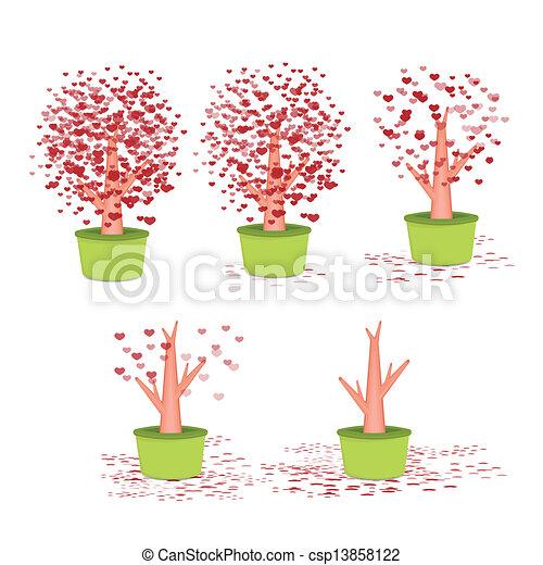 Valentine tree - csp13858122