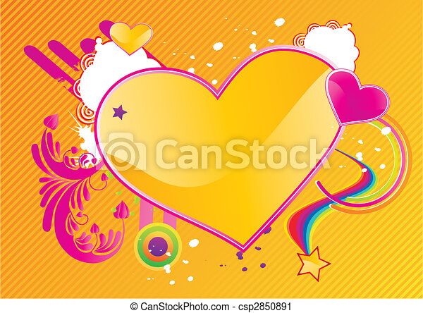 Valentines abstract background - csp2850891