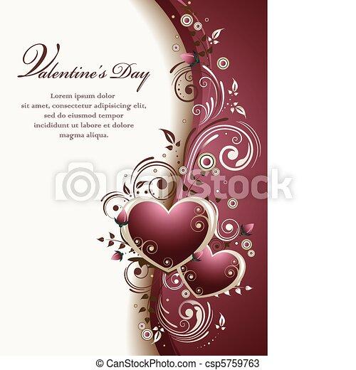 Valentine's Background - csp5759763