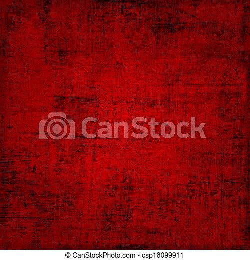 Valentine's background with hearts - csp18099911