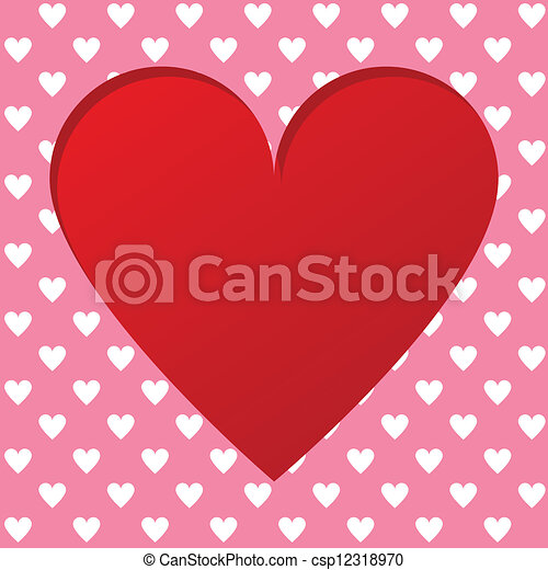 Valentines card - csp12318970