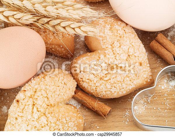 Valentine's Cookies - csp29945857