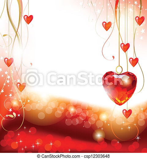 valentine's dag - csp12303648