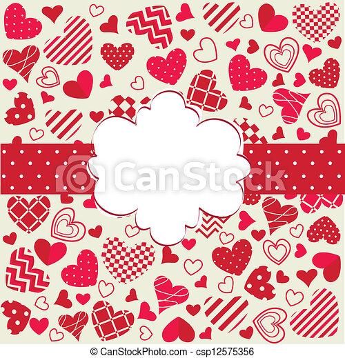 valentines dag, vrolijke  - csp12575356