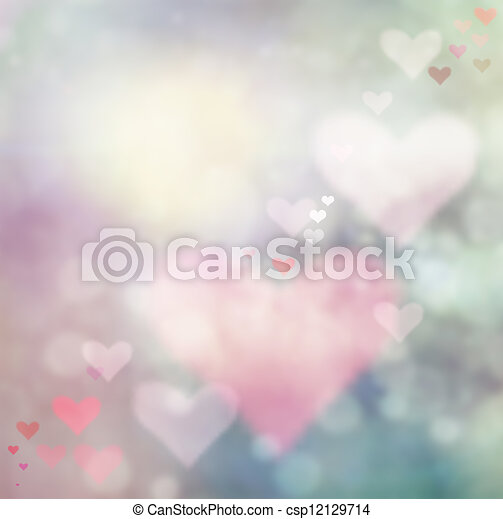 Valentines day abstract background - csp12129714