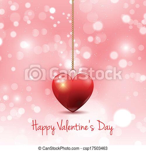Valentines day background - csp17503463