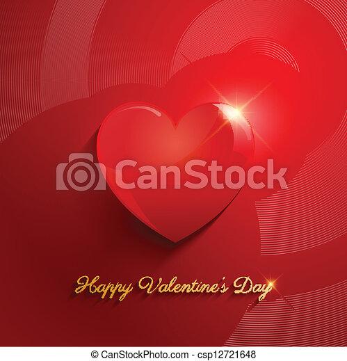 Valentines Day background - csp12721648