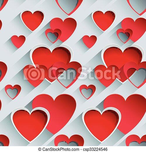 Valentines day background - csp33224546