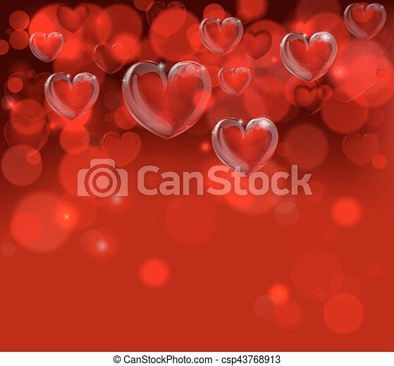 Valentines Day Background Header - csp43768913