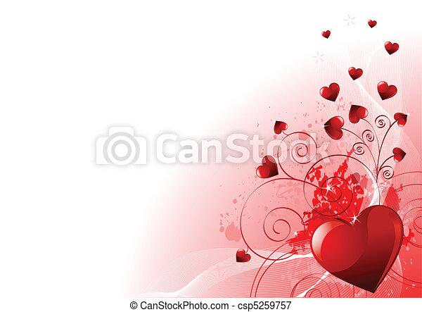 Valentines Day background - csp5259757