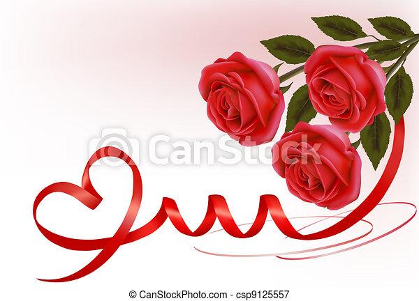Valentine`s day background.  - csp9125557