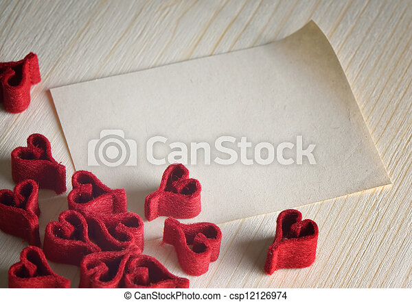 Valentines day background - csp12126974