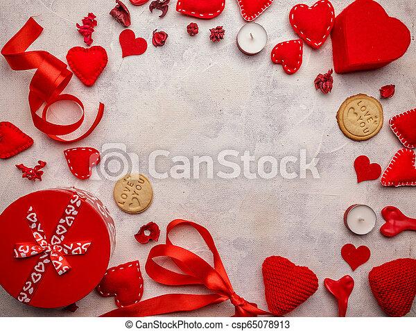 Valentines Day background - csp65078913