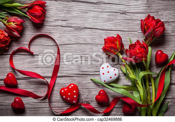Valentines Day background - csp32469886