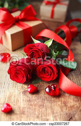 Valentines Day background - csp33007267
