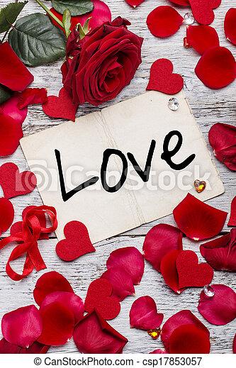 Valentines Day background - csp17853057
