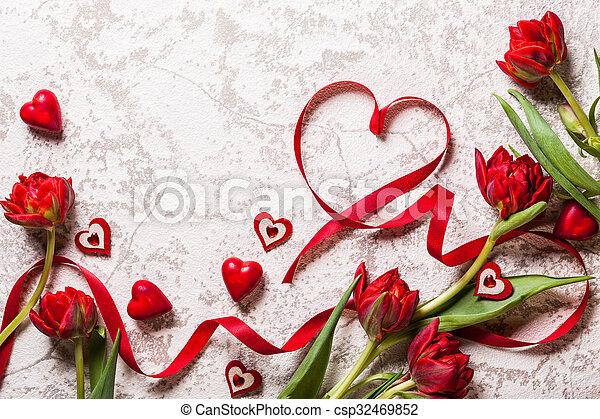 Valentines Day background - csp32469852