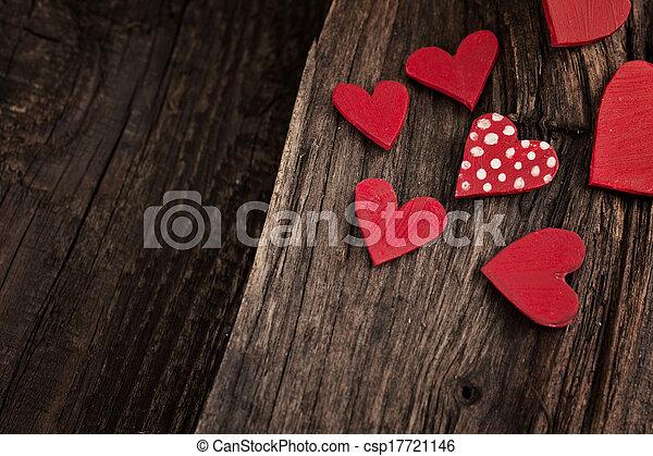 Valentine's day background - csp17721146