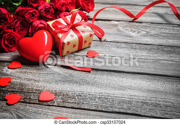 Valentines day background - csp33107024