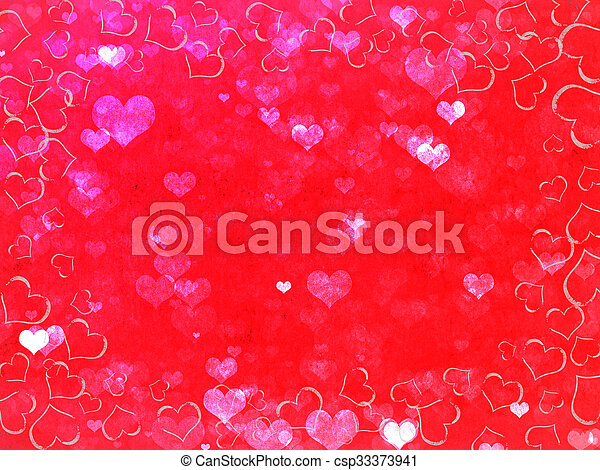 valentines day background - csp33373941