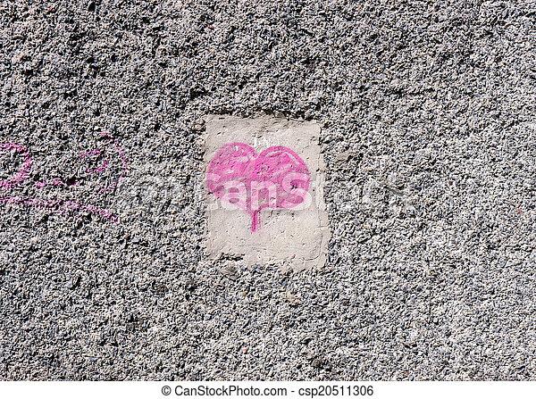 Valentines day background.  - csp20511306