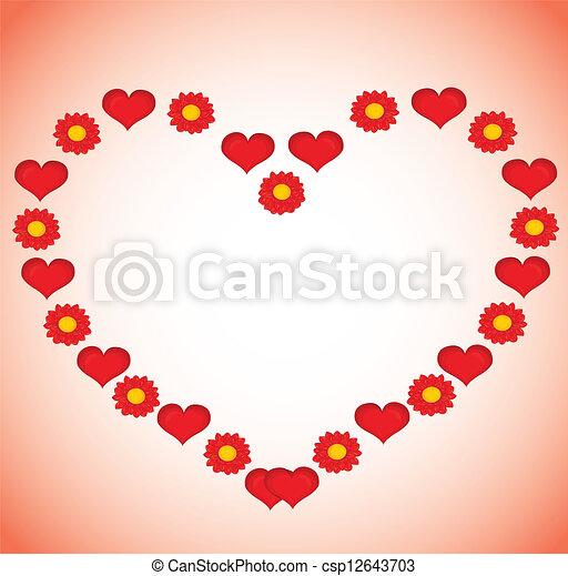 Valentines Day background. - csp12643703