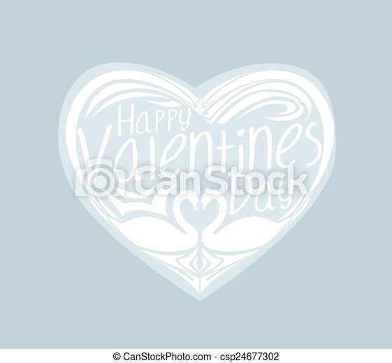 Valentines Day background - csp24677302