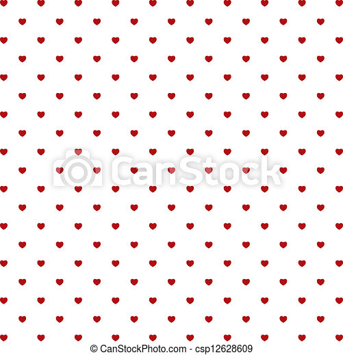 Valentine's day background with hearts - csp12628609