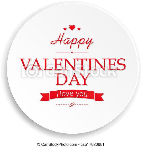 Valentines Day Banner - csp17820881
