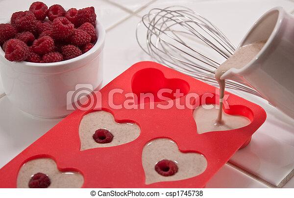 Valentine's Day breakfast - csp1745738