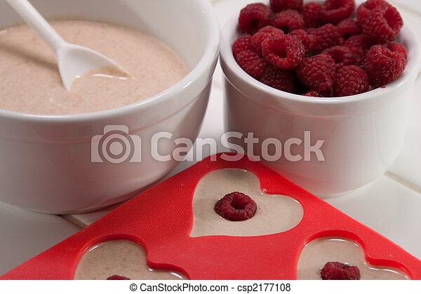 Valentine's Day breakfast - csp2177108