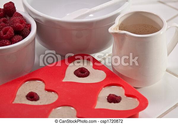 Valentine's Day breakfast - csp1720872